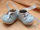 Botosei bleu din ceramica