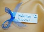 Cardulet personalizabil cu funda albastra