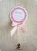 Invitatie de botez Girls Lollipop