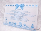 Pachet de botez Blue Bow pentru 10 familii