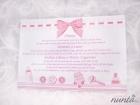 Pachet de botez Pink Bow pentru 10 familii