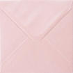 Plic patrat mare roz sidefat