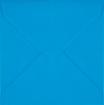 Plic patrat mic albastru-turcoaz